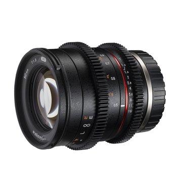 Walimex Pro Objektiv 50/1,3 Video APS-C Sony E
