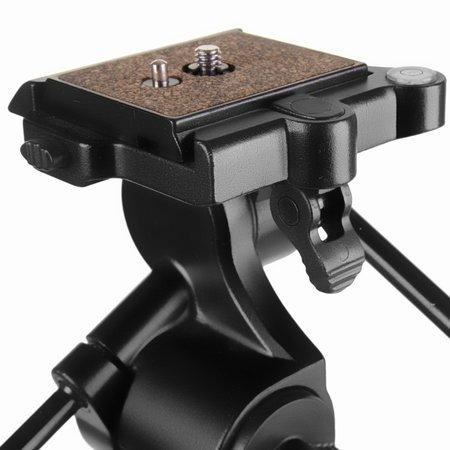 Walimex Pro WAL-6702 Pro tripod + FT-6653H panhead