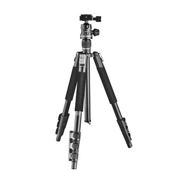 Mantona DSLM Travel Evolution 224 Tripod Black