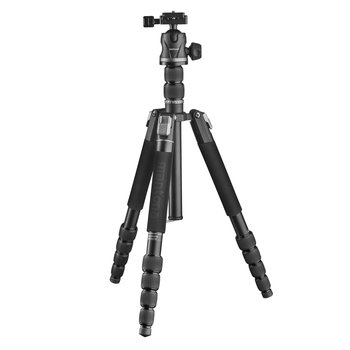 Mantona DSLM Travel Evolution Max 255 Tripod Black