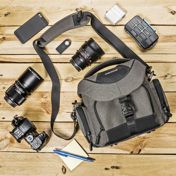 Mantona Premium Cameratas taupe
