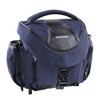 Mantona Premium Kameratasche blau