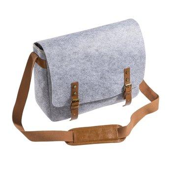 Mantona Messenger camerabag made of felt