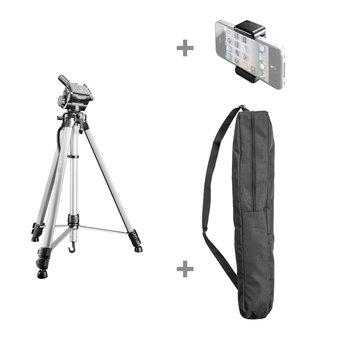 Walimex Pro WT-3530 Basic-Stativ 146cm silber