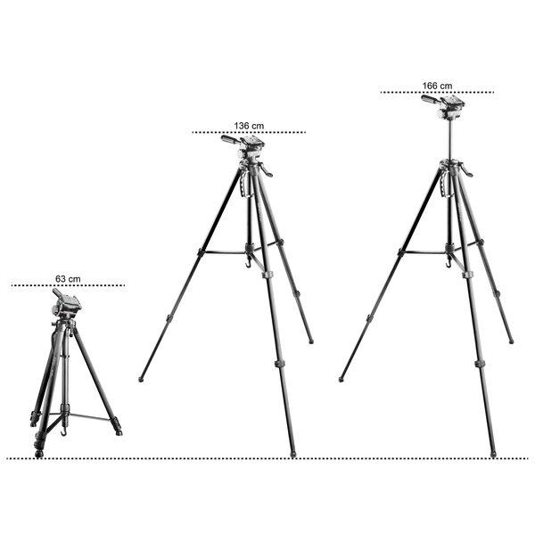 Walimex Pro WT-3570 Basic-Tripod168cm zwart
