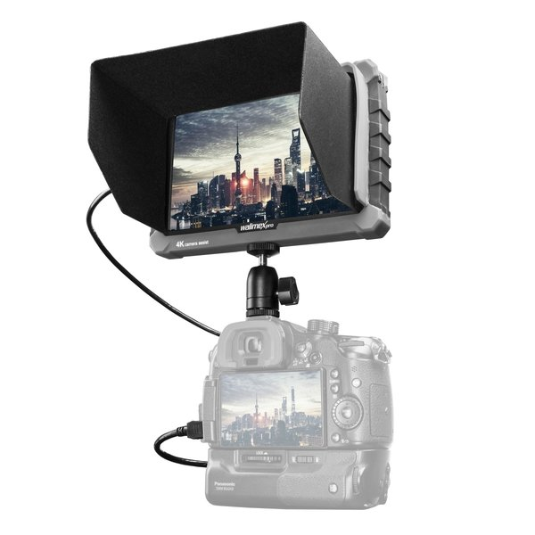 "Walimex Pro 7"" Camera Assist Monitor 4K IPS Set"