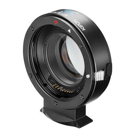 Kipon Baveyes AF Adapter Canon EF-Sony E 0.7x w. support