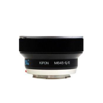 Kipon Baveyes Adapter Mamiya 645 to Sony E (0.7x)