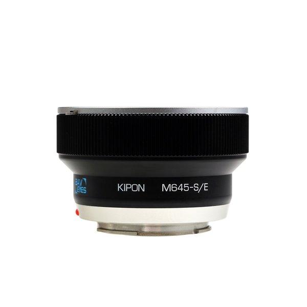 Kipon Baveyes Adapter für Mamiya 645 auf Sony E (x0.7)