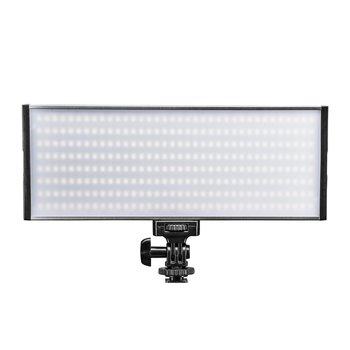 Walimex Pro LED Flächenleuchte Niova 300 Bi Color 30W On Camera LED Leuchte