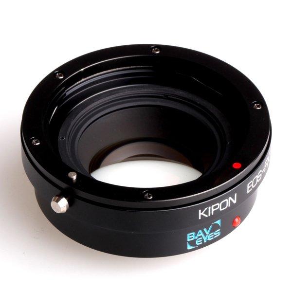 Kipon Baveyes Adapter für Canon EF auf Fuji X (0.7x)