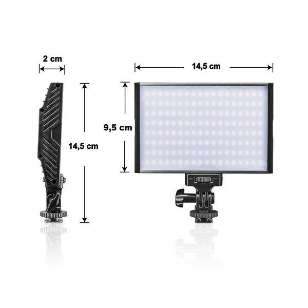 Walimex Pro Niova 150 Bi Color On Camera LED Lamp 15 Watt