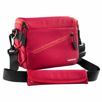 Mantona Camera Bag Irit System, Red - Sale