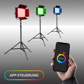 Walimex Pro Rainbow RGB LED Square Lamp 100W