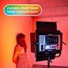 Walimex Pro LED Square Lamp Rainbow RGB 100W