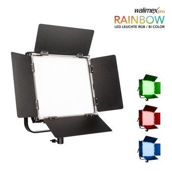 Walimex Pro LED Flächenleuchte Rainbow 50W RGBWW