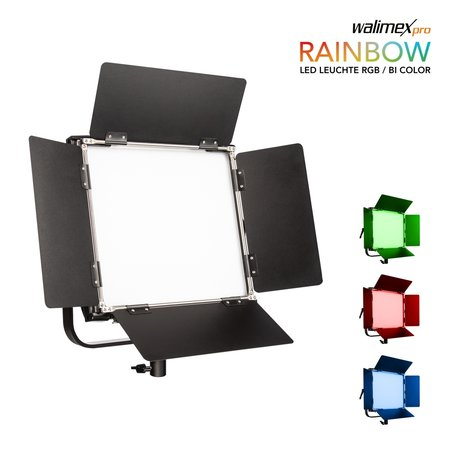 Walimex Pro Rainbow LED RGB Square Lamp 50W | Available soon