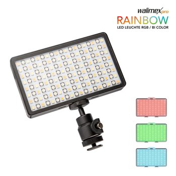 Walimex Pro LED Pocket Rainbow licht RGBWW