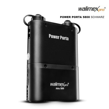 Walimex Pro Power Porta 5800 black for Canon