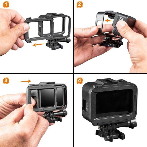 Mantona Comfort Frame für GoPro Hero 8