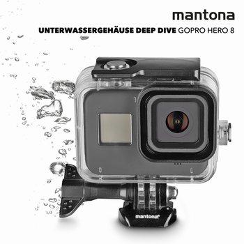 Mantona Unterwassergehäuse Deep Dive GoPro Hero 8