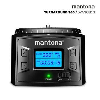 Mantona Turnaround 360 Advanced 3 - Elektrischer Panoramakopf