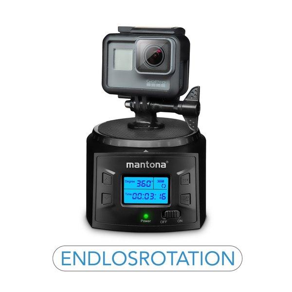 Mantona Turnaround 360 Advanced 3 Elektrische Panoramakop