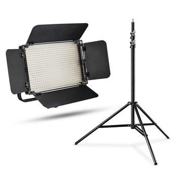 Walimex Pro LED Flächenleuchte Niova 600 Plus Bi-Color + WT-806