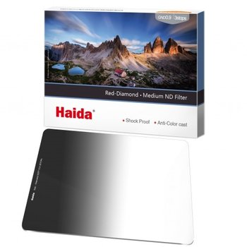 Haida Red Diamond Medium Graduated ND Filter 2 Stops 100x150mm ND0.6