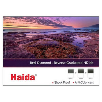 Haida Red Diamond Reverse Graduated ND Filter Set 2-3-4 Stops 100x150mm