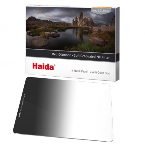 Haida Red Diamond Soft Graduated ND Filter 1 Stops 100x150mm ND0.3