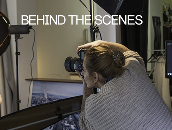 BEHIND THE SCENES | STUDIO LIGHTING