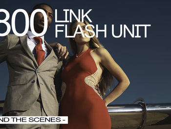 THE NEW LINK 800WS FLASH UNIT | BEHIND THE SCENES