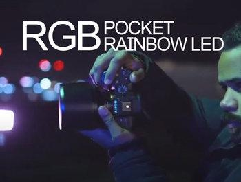 BEHIND THE SCENES   POCKET RAINBOW RGB LED