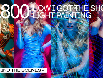 HOW I GOT THE SHOT   LIGHT PAINTING WITH RYAN SIMS