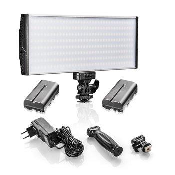 Walimex Pro LED Niova 300 BiColor 30W plus 2x NP-F Akku