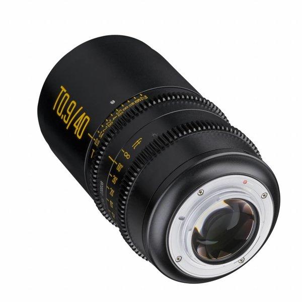 HandeVision Objectief Ibelux 40 / 0,9 Video APS-C MFT