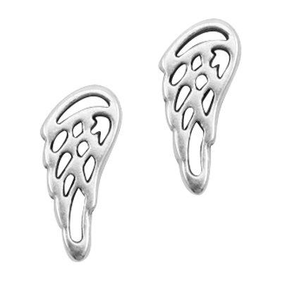 DQ bedel/ tussenstuk vleugel antiek zilver