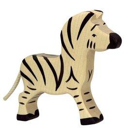 Holztiger Houten zebra klein