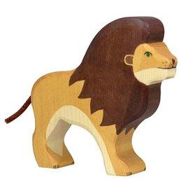 Holztiger Houten leeuw