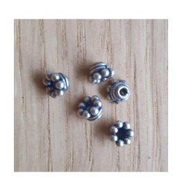 Tussenkraal antiek sterling zilver (1x)