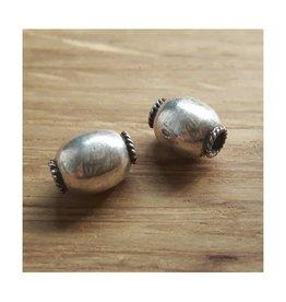Kraal Sterling zilver 8 mm (1x)