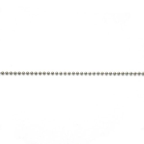 Ball chain 2 mm Sterling zilver
