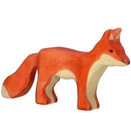 Holztiger Houten vos staand