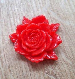 Flatback xl roos rood (1x)