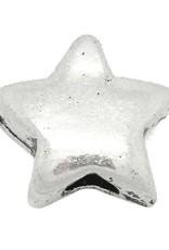 Sterkraal zilverkleurig 9 x 10 mm (1x)