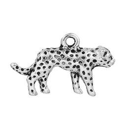 Bedel luipaard zilverkleurig