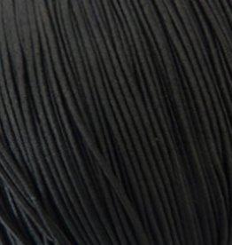 Elastiekdraad zwart 0,8 mm (3m)