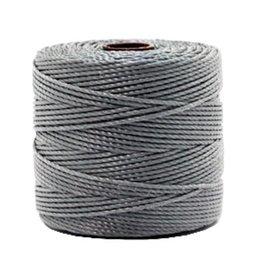 Nylon S-londraad 0,6 mm grijs (10m)
