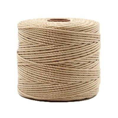 Nylon S-londraad 0,6 mm beige bruin(10m)